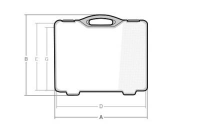 Maletas cotas CS-240 - SBD World Packaging