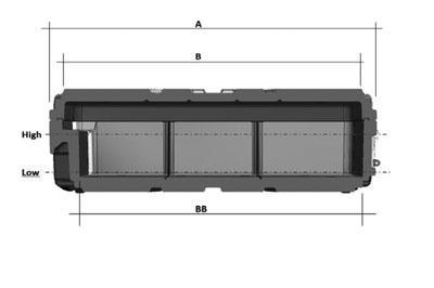 Trolleys cotas MHD-L - SBD World Packaging