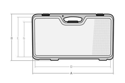 Maletas cotas CT-85 - SBD World Packaging