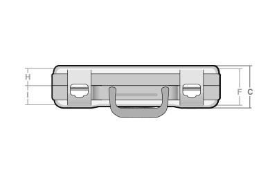 Maletas cotas NK-60 - SBD World Packaging