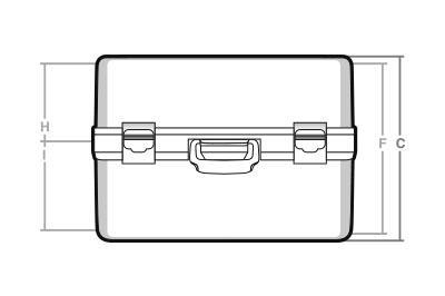 Maletas cotas TC-25 - SBD World Packaging