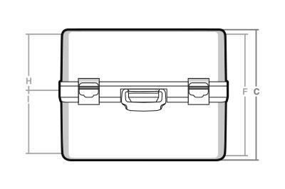 Maletas cotas TC-28 - SBD World Packaging