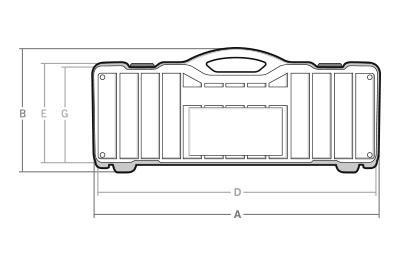 Maletas cotas TM-55-HH - SBD World Packaging