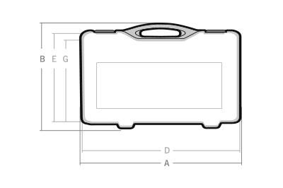 Maletas cotas OX-25 - SBD World Packaging